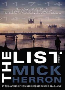 The List: A Novella by Mick Herron