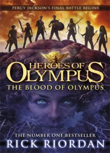 The fifth part is called Blood of Olympus.