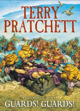 Guards! Guards! (Discworld Novel 8) by Terry Pratchett