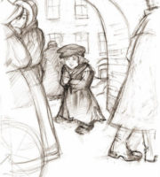 The boy at Christ's Christmas Tree by Fyodor Dostoyevsky