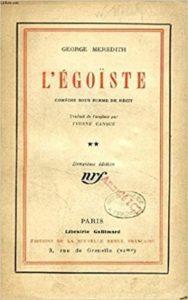 Egoiste by George Meredith